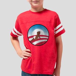 Obama Logo Baby No Text Dk Sk Youth Football Shirt