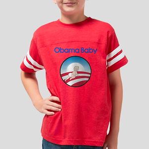 Obama Baby Logo Blonde Youth Football Shirt