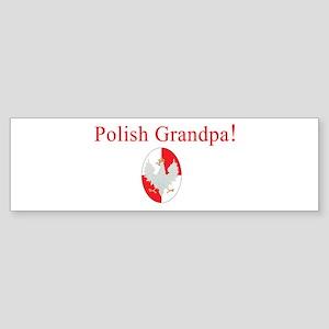 Polish Grandpa Bumper Sticker