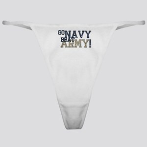 go NAVY beat ARMY Classic Thong