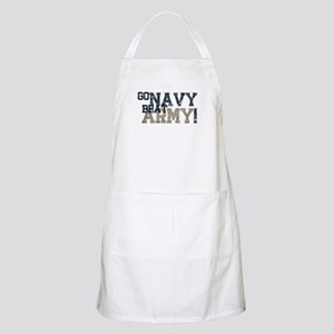 go NAVY beat ARMY Apron