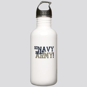 go NAVY beat ARMY Water Bottle