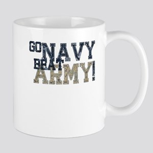 go NAVY beat ARMY Mugs