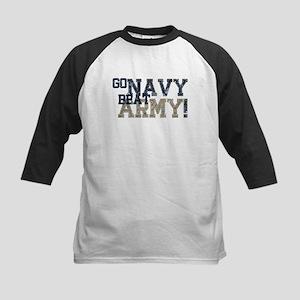 go NAVY beat ARMY Baseball Jersey