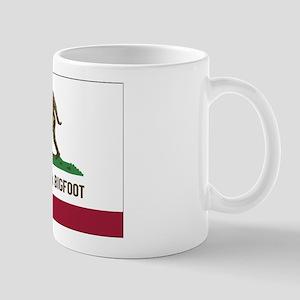 California Bigfoot Mugs