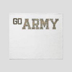 go ARMY Throw Blanket