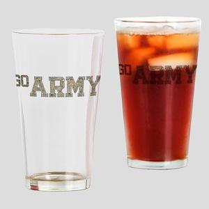 go ARMY Drinking Glass