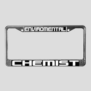 Environmental Chemist License Plate Frame