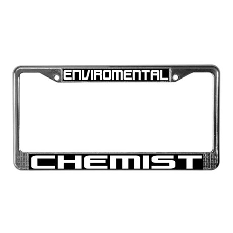 Chemistry Future Aluminum License Plate by giftsforeveryone |Chemist License