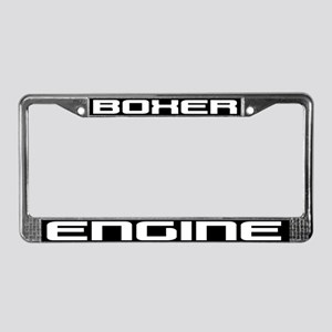Boxer Engine License Plate Frame
