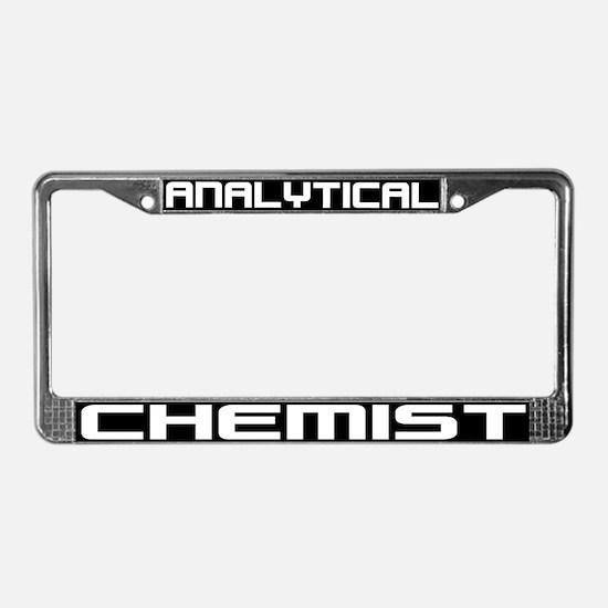 Analytical Chemist License Plate Frame