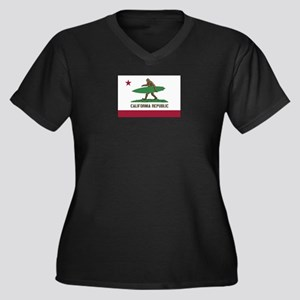 California Republic Bigfoot Plus Size T-Shirt