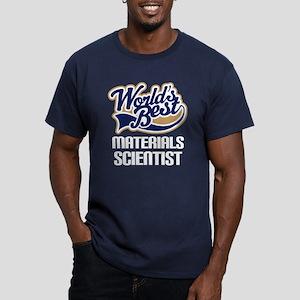 Materials Scientist (Worlds Best) Men's Fitted T-S