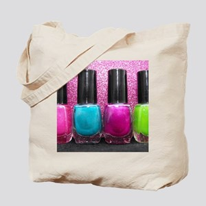 Bright Nail Polish Tote Bag