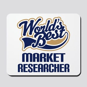 Market Researcher (Worlds Best) Mousepad