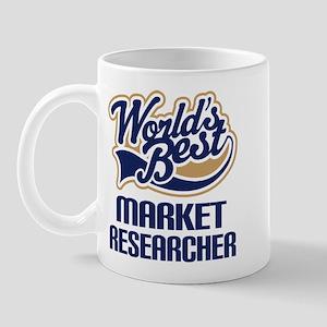 Market Researcher (Worlds Best) Mug