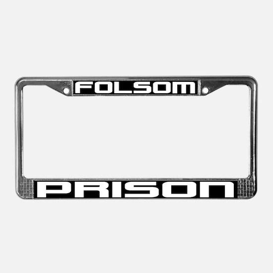 Folsom Prison License Plate Frame
