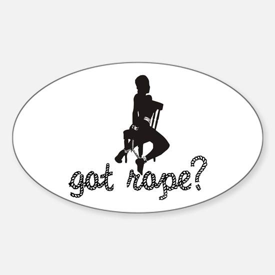 Got Rope? Oval Decal
