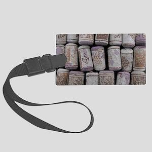 Wine Corks Large Luggage Tag