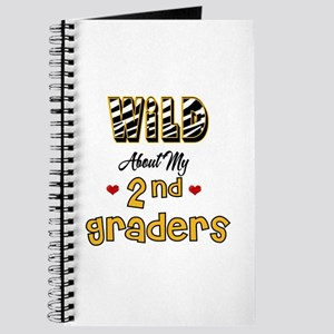 Wild About my 2nd Graders Journal