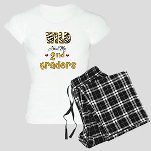 Wild About my 2nd Graders Women's Light Pajamas