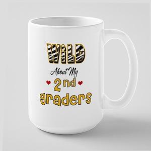 Wild About my 2nd Graders Large Mug