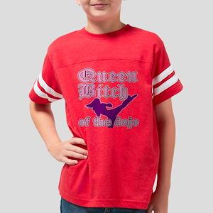 MA QB dark Youth Football Shirt