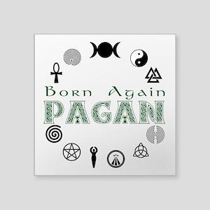 Born Again Sticker