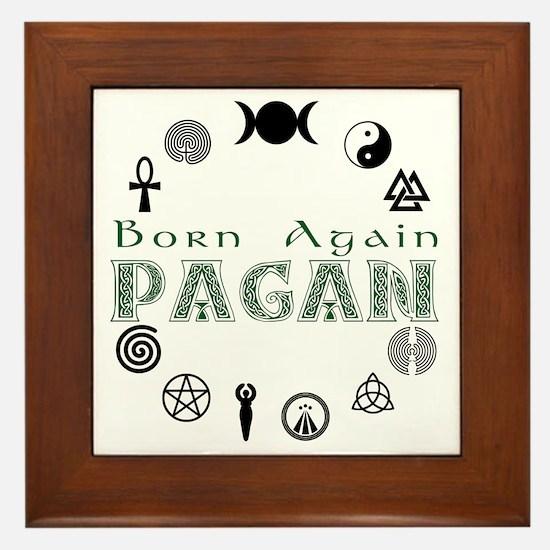 Born Again Framed Tile