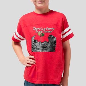 party tummy Youth Football Shirt