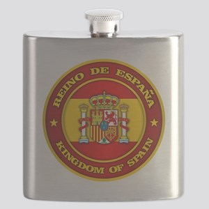 Spain Medallion Flask