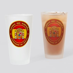 Spain Medallion Drinking Glass