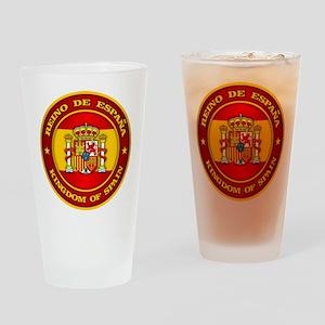 Spain Medallion Drinking Glass