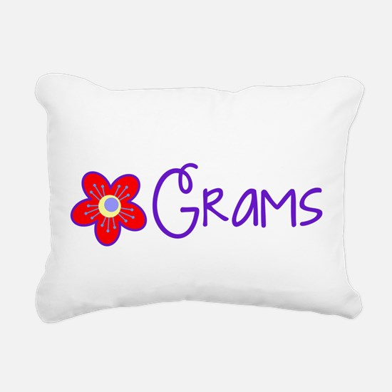My Fun Grams Rectangular Canvas Pillow