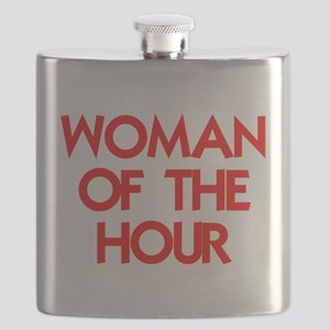 WOMAN OF THE HOUR Flask