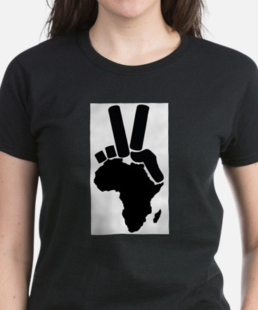 Africa Peace Sign T-Shirt