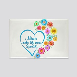 Mimi Special Heart Magnets