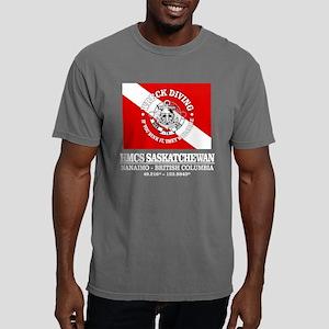 Hmcs Saskatchewan Mens Comfort Colors Shirt