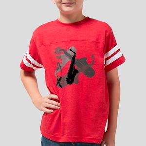 Graphic Sax Youth Football Shirt
