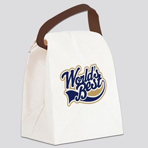 Lighting Director (Worlds Best) Canvas Lunch Bag