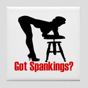 Got Spankings? Tile Coaster