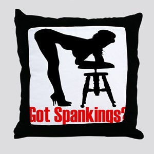 Got Spankings? Throw Pillow