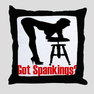 Got Spankings? Throw Pillow