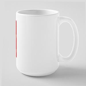 Blue/Red Shaka Large Mug