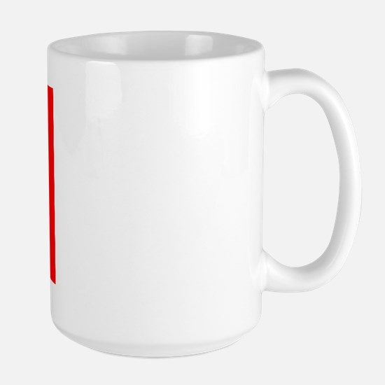 Blue/Red Shaka Large Mug