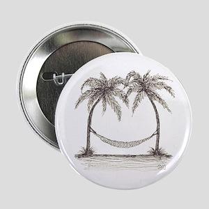 "SIESTA PALMS - HAMMOCK IN PARADISE 2.25"" Button"