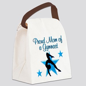 TOP GYMNAST MOM Canvas Lunch Bag