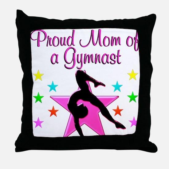 SUPER GYMNAST MOM Throw Pillow