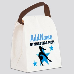 STAR GYMNAST MOM Canvas Lunch Bag