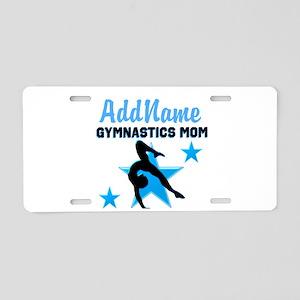 STAR GYMNAST MOM Aluminum License Plate